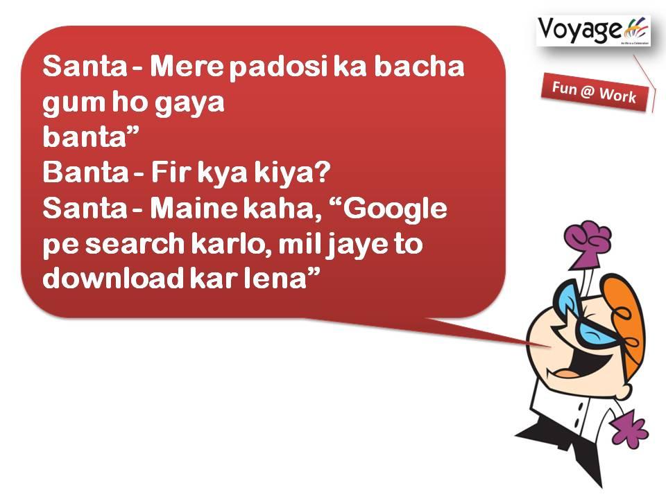 Heights of google l santa banta jokes funatwork www voyagegroup in