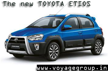 The new Toyata Etios