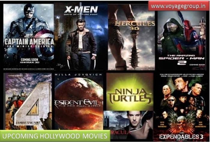 upcoming hollywood movies 2014