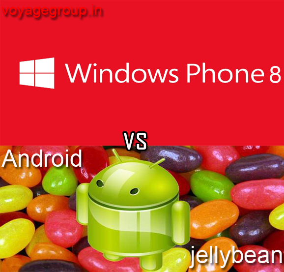Windows phone 8  vs Android Jellybean