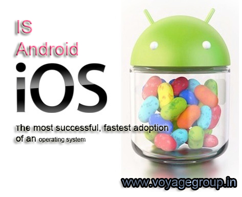 Is Android the most successful, fastest adoption of an operating system in history