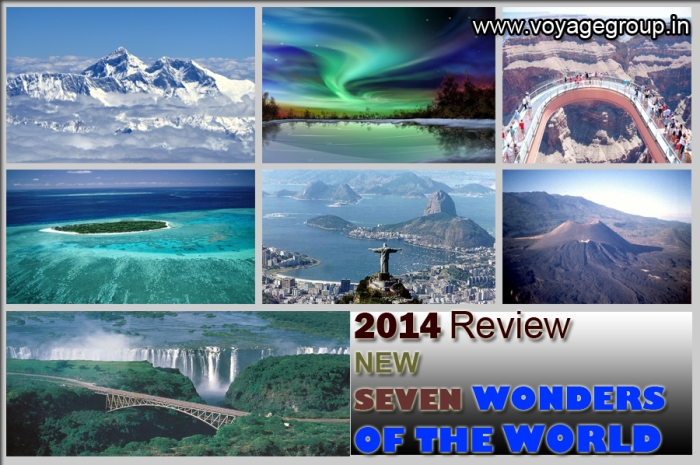 New Seven Wonders of the world 2014